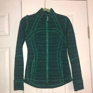 Lululemon Green Full Zip Jacket